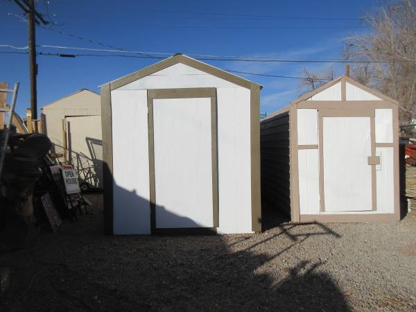Photo 2 STORAGE SHEDS, PLAYHOUSE, HOME OFFICE, GUEST HOUSE, 6X12 AND 8X12 - $1 (4TH AND OSUNA --NORTH VALLEY)