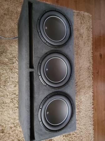 Photo 3 JL Audio 12w6v2 D4  Sundown SIA 3500 Amp - $2,300 (Albuquerque)