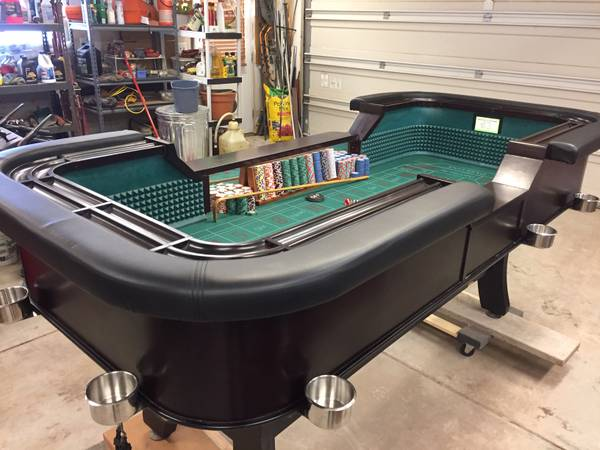 Photo 839 Craps Table - $2950 (Bayfield)