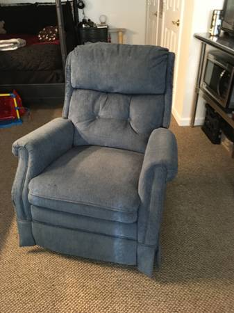 Photo Blue Recliner (Eagle)