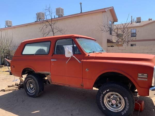 Photo Chevy blazer WAnted 69-72 - $15 (Albuquerque)