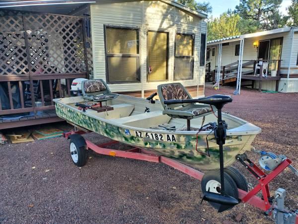 Photo Mirrocraft boat - $2,200 (Show low az)
