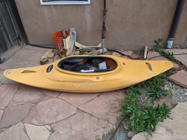 Photo Prijon white water play boat - $650 (Santa Fe)