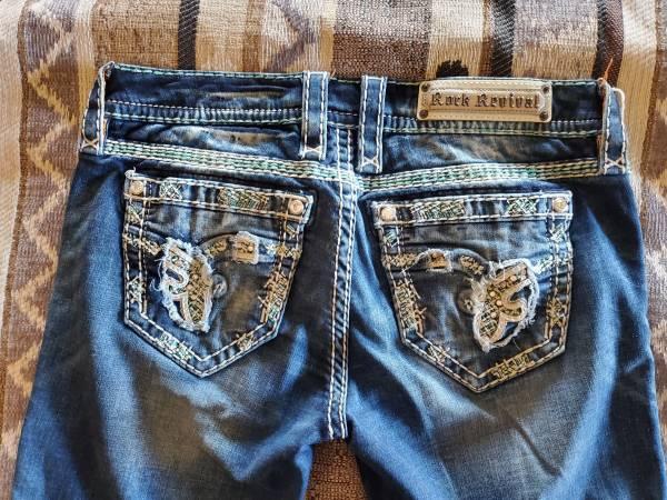 Photo Rock Revival women39s jeans size 28 - $40