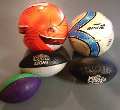 Photo SOCCER BALL ADDIDAS F-50 AND FRANKLIN BRINE ARROW - $20 (ALBUQUERQUE)