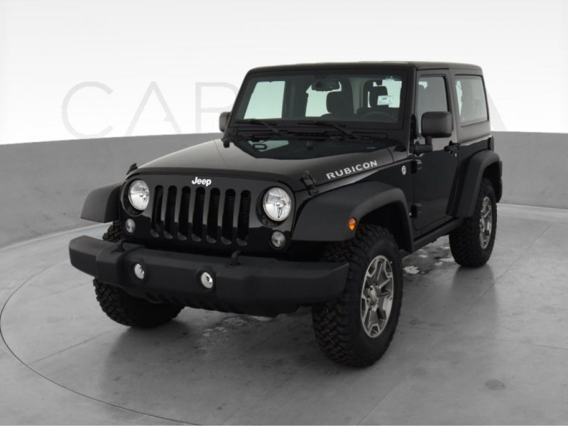 Photo Used 2015 Jeep Wrangler 4WD Rubicon w Dual Top Group for sale