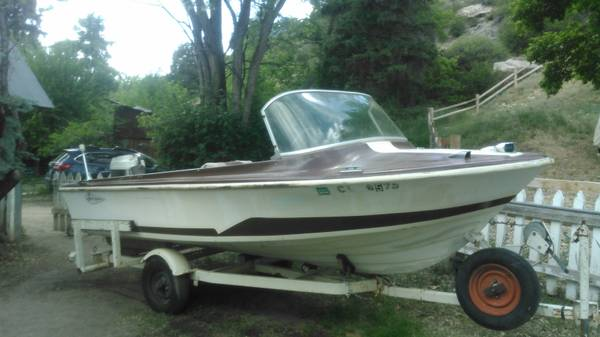 Photo Vintage 1962 Larson 16ft boat(Post update,Price reduced) - $1,500 (Dolores)