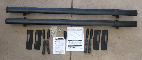 Photo YAKIMA LANDING PAD 9 ROOF RACK, 60 INCH BARS FITS HONDA ELEMENT - $249 (Santa Fe)