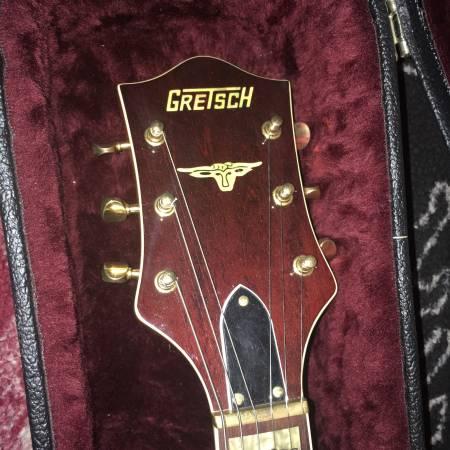 Photo ..gretsch 6120 dsw nashville.. - $1,700 (downtown)