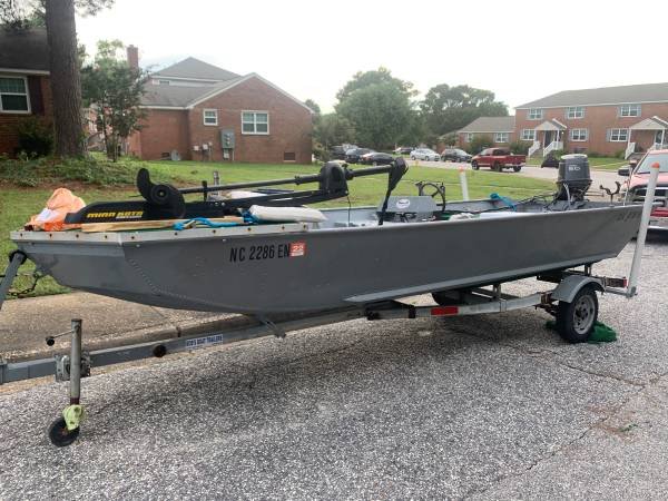 Photo 16 foot sea nymph with 2006 50hp Yamaha - $4,400 (Fort Braggfayetteville)