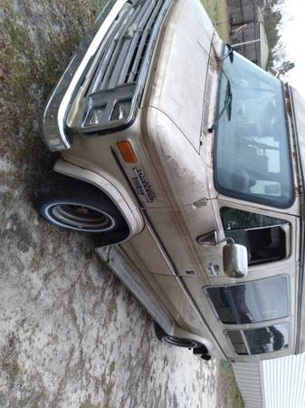 Photo 1987 CHEVY G20 FULL SIZE VAN 305 5.0 V8 WITH A TURBO 400 TRANS (Hope Mills)