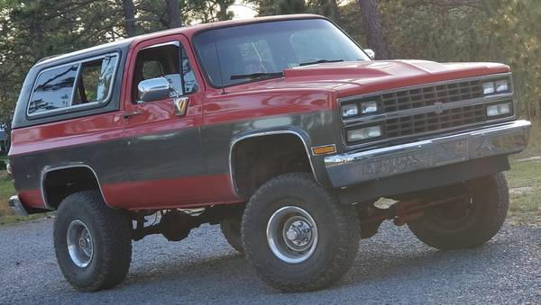 Photo 1990 Chevy Blazer Square body - $8,500 (WEST END)