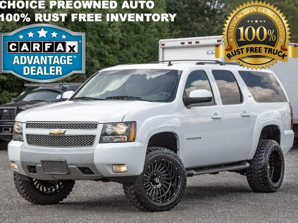 Photo 1 OWNER3 INCH LIFTED RCX 2011 CHEVROLET SUBURBAN Z71 4X4 LOADED - $17,995 (FORD CHEVY DODGE RAM GMC TOYOTA)