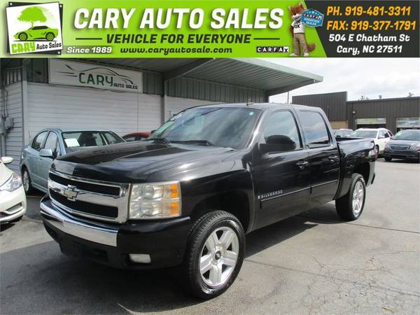 Photo 2007 CHEVROLET SILVERADO 1500 CREW CAB LTZ 4WD, 1 OWNER - $12,995 (CARY AUTO SALES, CARY,NC)