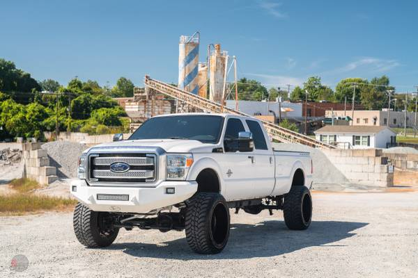 Photo 2013 Ford F350 SRW PLATINUMLIFTED8 LOADED BAD TO THE BONE MUST SEE - $44,999 (CHEVROLET, FORD, TOYOTA, DODGE, RAM, NISSAN, LEXUS, GMC)