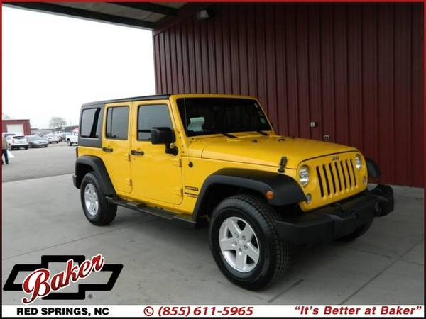 Photo 2015 Jeep Wrangler Unlimited - $0 DOWN PAYMENTS AVAIL - $24999 (2015 Jeep Wrangler Unlimited Baker Chevrolet)