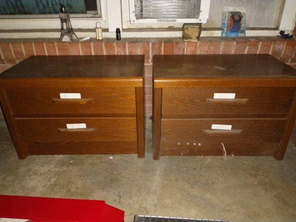 Photo 2 Night Stand Drawers They Are Used, But Good. $19.99 OBO Or Bet Offe - $20 (fayetteville, nc)