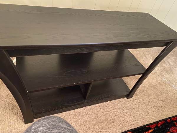 Photo Ashley Furniture Dark Brown TV Stand - $50 (Fayetteville)