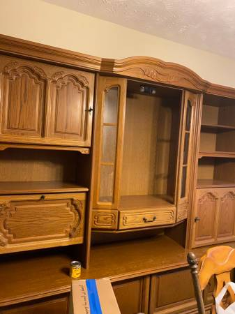 Photo Authentic German Schrank - $250 (Fayetteville)