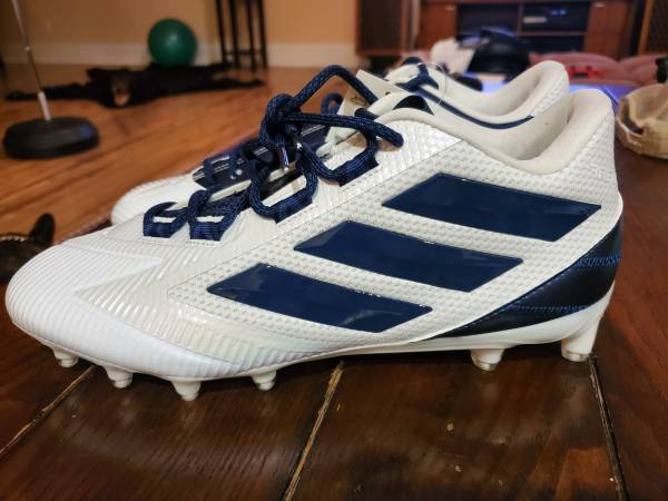 Photo Brand New Adidas Football Cleats Size 11.5  12 (4 Pairs) - $45 (Southern Pines)