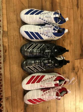 Photo Brand new Adidas adizero 8.0 Football Cleats - $80 (Southern pines)
