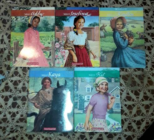 Photo Collectible American Girl Doll Books - $5 (Apex)