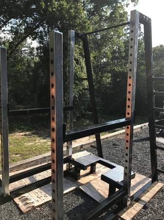 Photo Commercial Squat Rack - $425