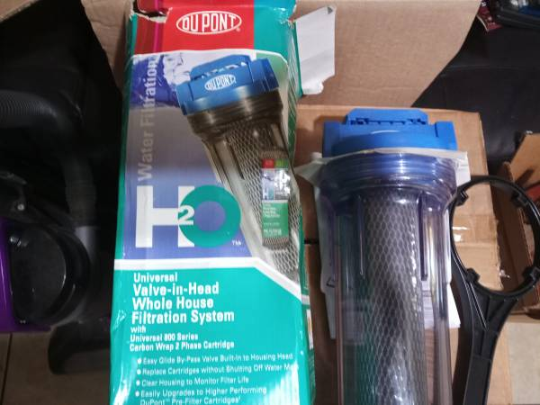 Photo Dupont whole house filter 20 dollars or best offer - $20 (Fayetteville)