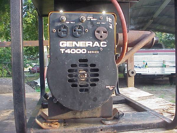 Photo Generator 4,000 Watt quotGenerac brandquot - $350 (Fayetteville)