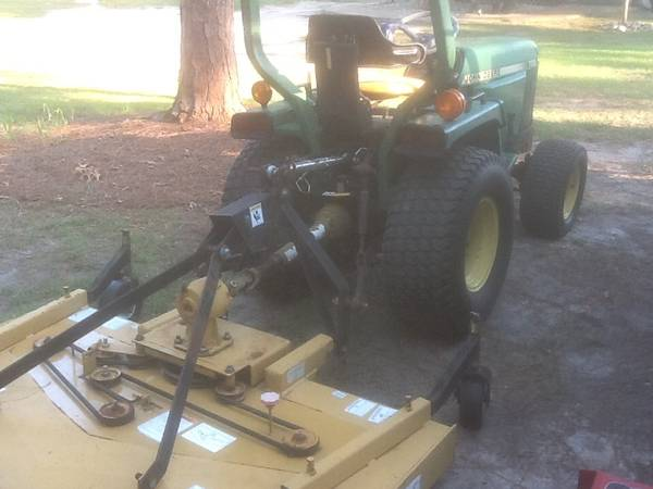 Photo John Deere Tractor - $8,500 (Southern Pines)