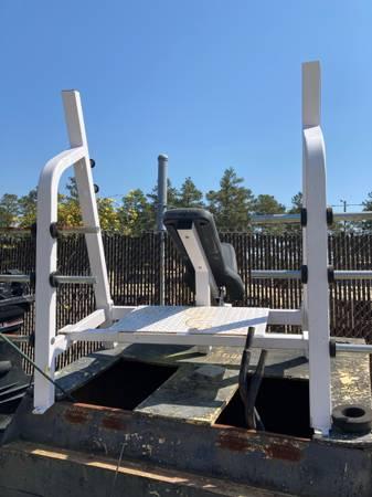 Photo Nautilus incline bench press - $225 (Fayetteville)