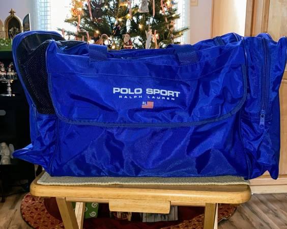 Photo Polo Sport  Ralph Lauren Nylon Duffel Bag - $15 (Roseboro, NC)