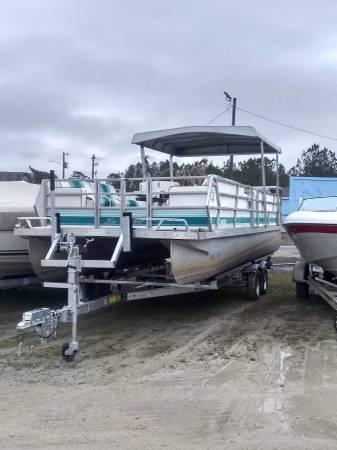 Photo Pontoon Boat For Sale - $5,000 (fayetteville)