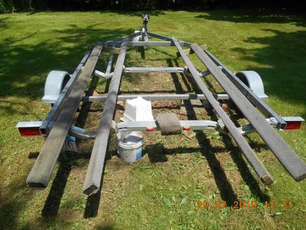 Photo 1439 Sea Eagle inflatable boat and trailer for sale - $1,600 (Pulaski, NY)