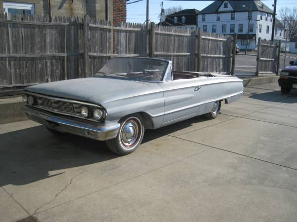 Photo 1964 FORD GALAXIE CONVERTIBLE - $4,000 (BUFFALO NY)