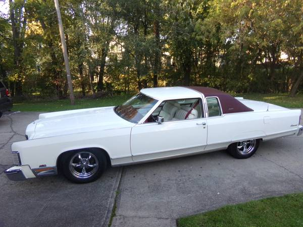 Photo 1976 HOT ROD LINCOLN CONTINENTAL 2DR TOWN COUPE - $9500 (SENECA FALLS NY)