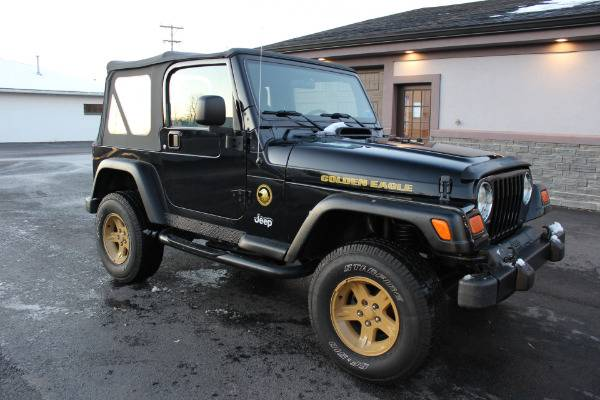 Photo 2006 Jeep Wrangler GOLDEN EAGLE EDITION Stock 1527 - $15,995