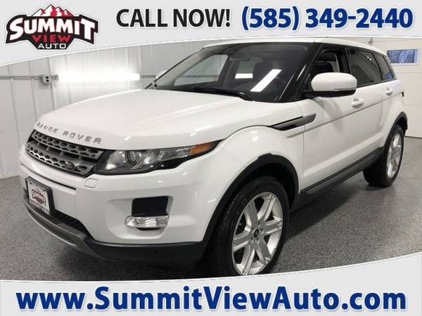 Photo 2013 LAND ROVER Range Rover Evoque Pure  Full Size Luxury SUV  4WD - $19995 (Financing at www.SummitViewAuto.com  716-288-5223)