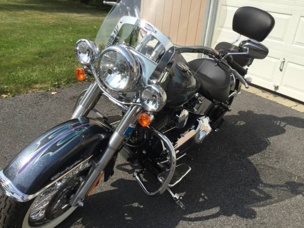 Photo 2015 HD Softail Deluxe - $12,900 (Union Springs, NY)