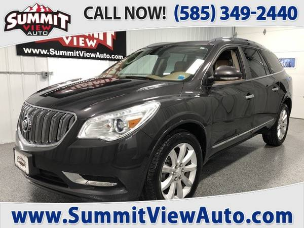 Photo 2016 BUICK Enclave Premium Group Midsize Crossover SUV AWD 3rd Row - $18995 (Financing at www.SummitViewAuto.com  716-288-5223)