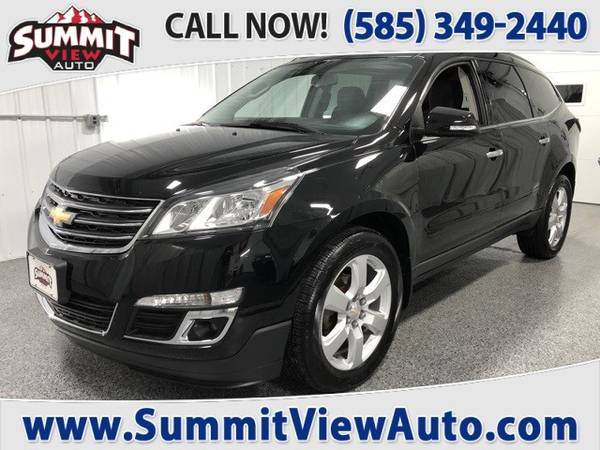 Photo 2016 CHEVY Traverse LT Midsize Crossover SUV AWD3rd Row Backup Cam - $19995 (Financing at www.SummitViewAuto.com  716-288-5223)