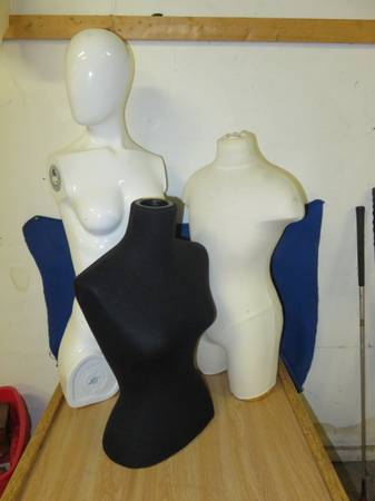 Photo 3 Mannequin Forms Female and Male - $10 (Norwich)
