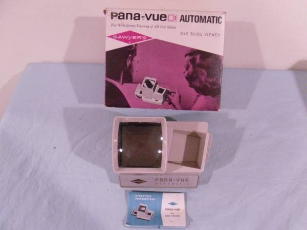 Photo Camera Item Pana-Vue Automatic 2 X 2 Slide Viewer - $40 (Webster, NY)