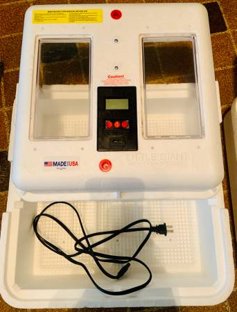 Photo Digital Incubator (Little Giants) - $75