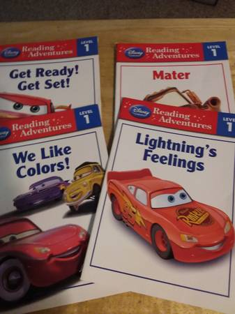 Photo Disney Pixar Cars Books - $5 (Chili)