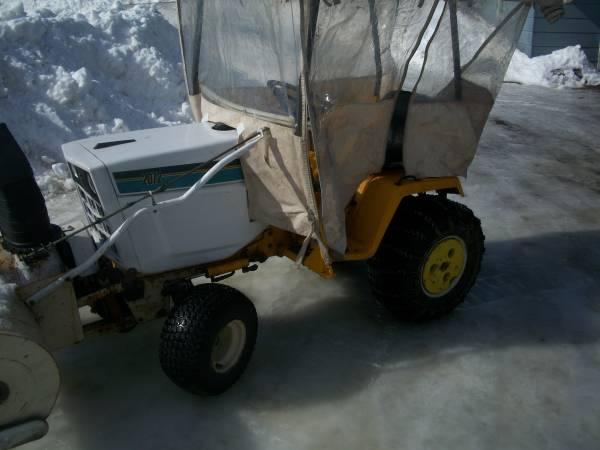 Photo Garden Tractor - $3,600 (Trumansburg)
