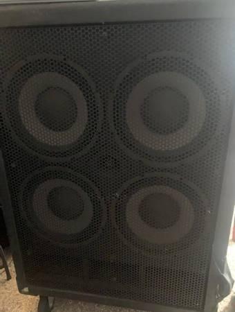 Photo Kustom Groove 4x10 bass cabinet - $300 (Rochester)