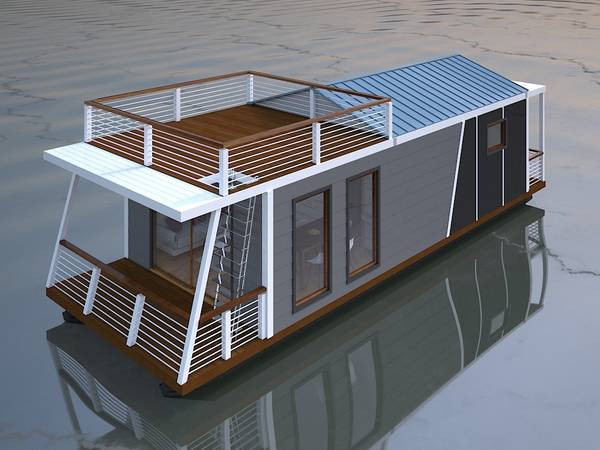 Photo Live on the Water in your own Houseboat - $135000 (Cayuga)