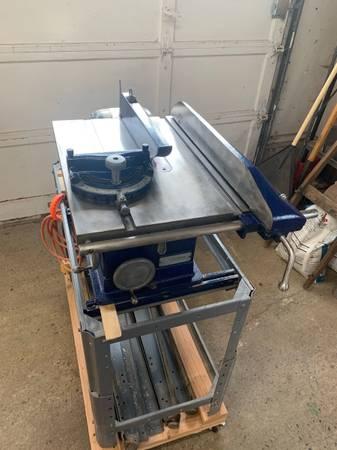 Photo Vintage Craftsman Table Saw - Refurbished, Solid Cast Iron - $150 (Cayuga)