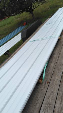 Photo White steel liner Panel (Senecafalls)